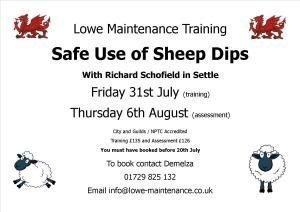 Safe Use of Sheep Dip