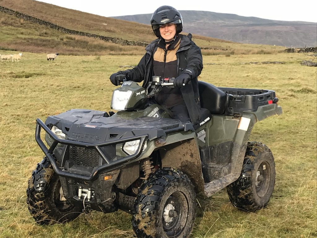 Lowe Maintenance ATV Sit Astride quad bike training and assessment