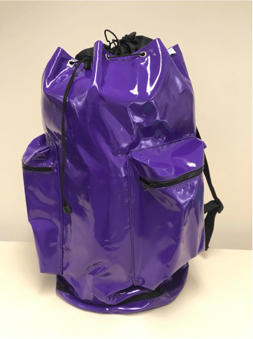 Lowe Maintenance Purple Large Rope Bag (1)