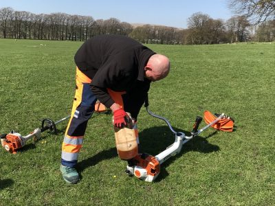 Safe Use of Brushcutter and Trimmer