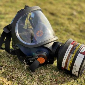 Respirator for phostoxin and talunex in rabbit, rat and mole control