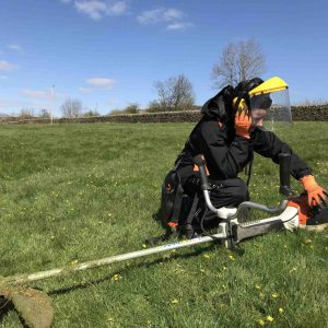 Lowe Maintenance Safe use of Brushcutter and Triimmer 14-21