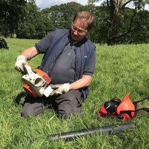 Lowe Maintenance Leaf Blower course 14-24