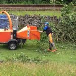 Manually fed wood chipper training courses in North Yorkshire. Integrated assessment so all completed in the same day.
