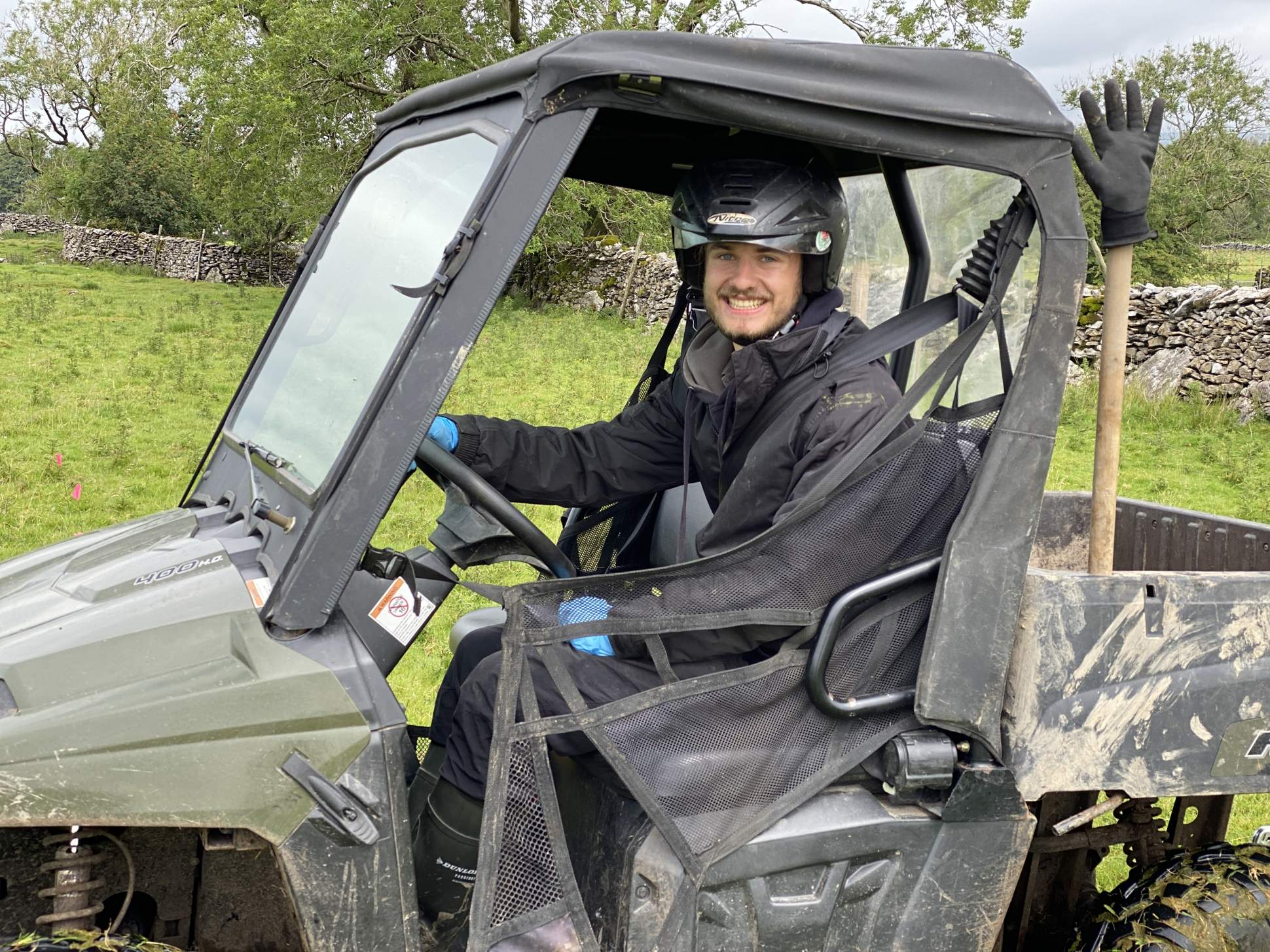 ATV Sit In and trailers training course North Yorkshire
