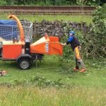 Safe use of a manually fed wood chipper training courses in North Yorkshire. Integrated assessment so all completed in the same day.