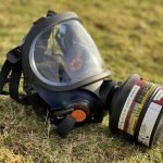 Respirator for phostoxin and talunex in rabbit, rat and mole control on the aluminium phosphides course, North Yorkshire