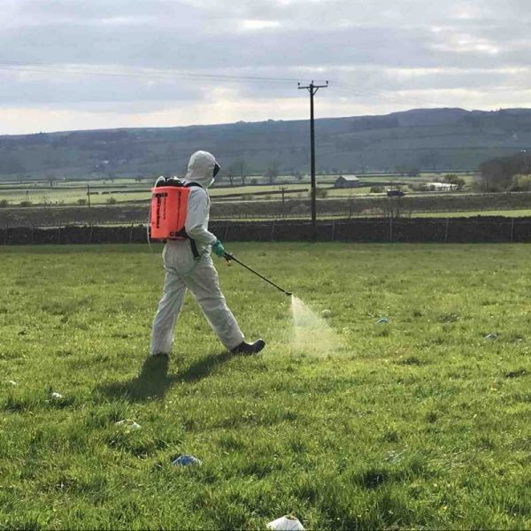 Lowe Maintenance PA6a Knapsack handheld spraying training course