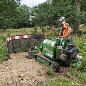 Stump Grinder training course