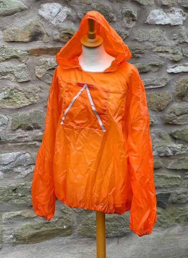 Para top Orange with reflective - front view