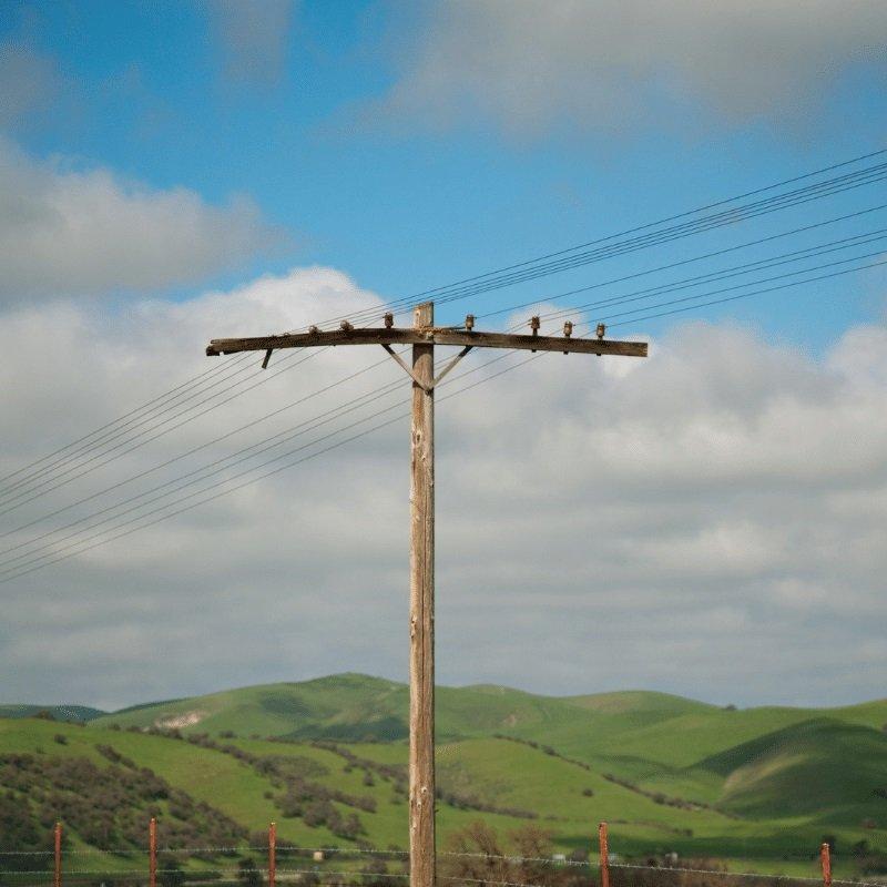 Fell Utility Poles